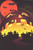 HAL01 - $3.99 Retail Each - Halloween Greeting Cards General PKD 3