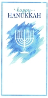 HAN01 - $2.80 Retail Each - Hanukkah Moneyholder Greeting Cards PKD 6