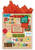PC2012 - $3.75 Retail Each - Large Christian General Gift Bags - PKD 12s