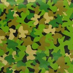 RW1005 - $3.99 Retail each, Birthday Camouflage Wrap packed in 10's