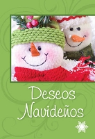 SCH01 - $2.80  Wrapped Spanish Cards - Happy Holidays PKD 6