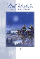 SCH12 - $2.80 Wrapped Spanish Cards - Christmas Religious PKD 6