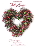 SCH18 - $2.80 Wrapped Spanish Cards - Christmas Love PKD 6