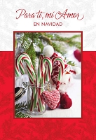 SCH19 - $2.80 Wrapped Spanish Christmas Cards - Love PKD 6