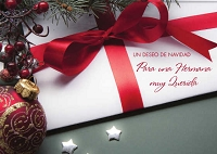 SCH20 - $2.80 Wrapped Spanish Cards - Christmas Sister PKD 6