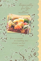 THA06 - $3.99 Retail Each - Thanksgiving Especially For You Greeting Cards PKD 3