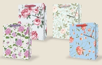 VA1010 - Perfect Posies Large Gift Bag Assort - PKD 48's