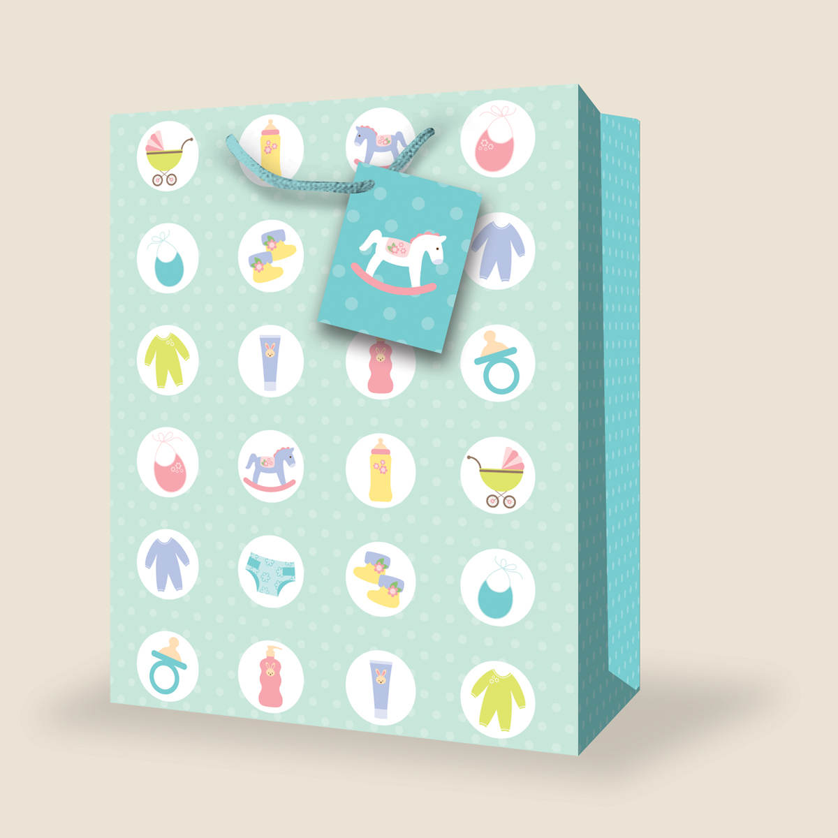 Birthday Gift Bag  sc 1 st  InterGreet & Wholesale Large Baby Gift Bags