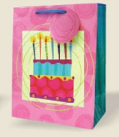 VM1003 - Medium Birthday Gift Bags PKD 12s