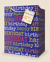 VS1001 - Small Birthday Gift Bags PKD 12s