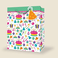 VS1003 - Small Birthday Gift Bags PKD 12s