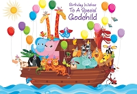 3550 - $2.80 Value Godchild Birthday (Cello Wrapped) pkd 6