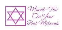 6131 - $2.80 Retail Each -Wrapped Jewish Mazel Tov Bat-Mitzvah Money Holder Card PKD 6