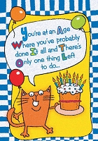 6179 - $2.80 Retail Each Birthday Humorous PKD 6