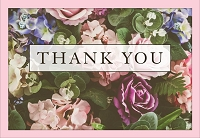 5073- $2.80 Retail each - Value Thank You for Kindness Card - Pkd 6's