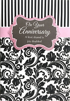 HM001 - $4.40 Retail Each - Anniversary Handmade Greeting Cards - PKD 6