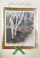 HM032 - $4.40 Retail Each - Get Well Handmade Greeting Cards - PKD 6