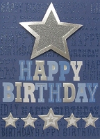 HM037 - $4.40 Retail Each - Birthday Masculine Handmade Greeting Cards - PKD 6