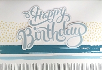 HM038 - $4.40 Retail Each - Birthday Masculine Handmade Greeting Cards - PKD 6