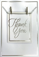 HM040 - $4.40 Retail Each - Thank You Handmade Greeting Cards - PKD 6