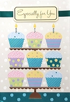 1153 - $5.99 Retail Each - Premium Birthday Thinking of You Greeting Cards PKD 3