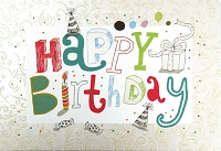 1001 - $5.99 Retail Each - Birthday General Greeting Card - PKD 3