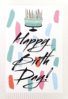 1002 - $5.99 Retail Each - Birthday General Greeting Card - PKD 3