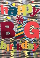 1007 - $5.99 Retail Each - Birthday General Greeting Card - PKD 3