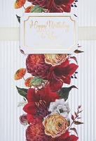 1011 - $5.99 Retail Each - Birthday General Greeting Card - PKD 3