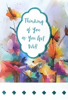 8180 - $5.99 Retail Each - Get Well Greeting Cards PKD 3 - Premium