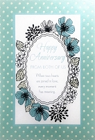 3962 - $3.99 Retail Each - Anniversary from Both Greeting Card PKD 6