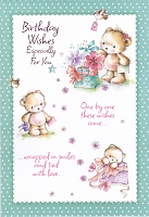 1132 - $3.99 Retail Each - Birthday Cute Greeting Card - PKD 6