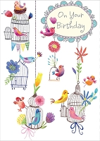 1126 - $3.49 Retail Each - Birthday General Greeting Card - PKD 6