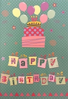 1040 - $3.99 Retail Each - Birthday General Greeting Card - PKD 6