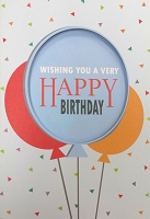 1043 - $3.99 Retail Each - Birthday General Greeting Card - PKD 6
