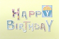 1052 - $3.99 Retail Each - Birthday General Greeting Card - PKD 6