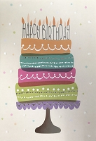 1035 - $3.99 Retail Each - Birthday General Greeting Card - PKD 6