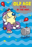 1213 - $3.99 Retail Each - Birthday Humorous Greeting Card - PKD 6