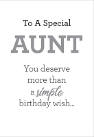 8258 - $3.99 Retail Each - Birthday Aunt Humor Greeting Cards PKD 6 - Premium