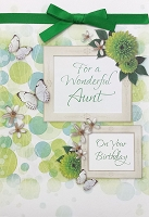 8256 - $3.99 Retail Each - Birthday Aunt Greeting Cards PKD 6 - Premium
