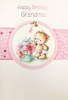 2304 - $3.99 Retail Each - Birthday Grandma Greeting Card - PKD 6