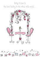 3875 - $3.99 Retail Each - Love Greeting Card - PKD 6
