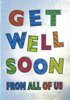5065- $3.99 Retail Each - Get Well From All Greeting Cards - PKD 6