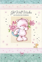 5025- $3.99 Retail Each - Get Well General Greeting Cards - PKD 6