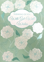 5068- $3.49 Retail Each - Get Well General Greeting Cards - PKD 6
