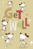 5028 - $3.99 Retail Each - Get Well Humorous Greeting Cards - PKD 6