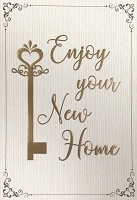 ED0018 - $3.99 Retail Each - New Home Greeting Card - PKD 6
