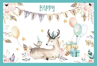 1034 - $3.99 Retail Each - Birthday General Cute Greeting Card - PKD 6