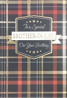 ED0006 - $3.99 Retail Each - Birthday Brother In Law Greeting Card - PKD 6