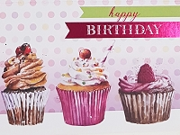 1015 - $3.49 Retail Each - Birthday General Greeting Card - PKD 6